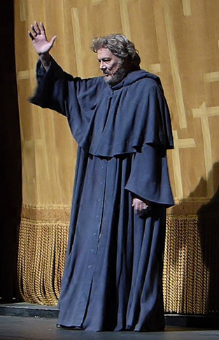 Furlanetto as Fiesco at the Met