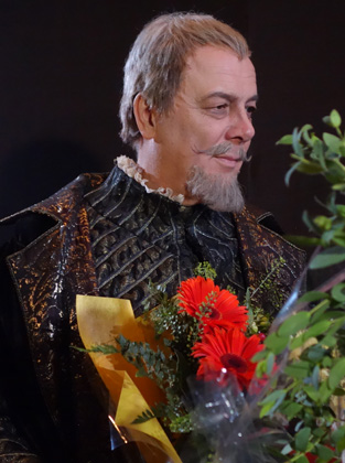 Ferruccio Furlanetto as King Philip in Don Carlo, Mariinsky