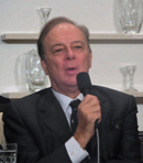 Ferruccio Furlanetto at the press-conference in Tokio