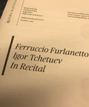 Ferruccio Furlanetto recital program in Sidney
